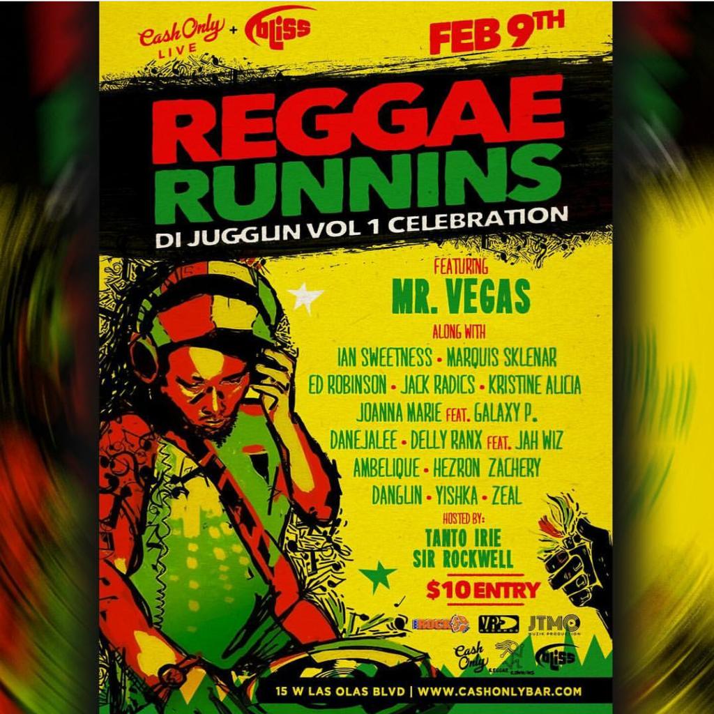 Reggae Runnins @ Fort Lauderdale | Florida | United States